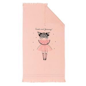 Πετσέτα Θαλάσσης Παιδική 70x120cm Melinen Watermellow Βαμβακερή