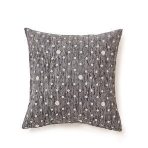Διακοσμητική Μαξιλαροθήκη Σαλονιού 40x40cm Melinen Dots Grey Chenille