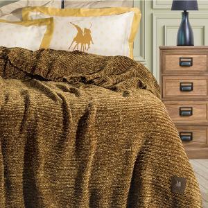 Κουβέρτα Υπέρδιπλη Chenille 220x240cm Greenwich Polo Club 2423