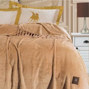 Κουβέρτα Υπέρδιπλη Fleece 220x240cm Greenwich Polo Club 2429