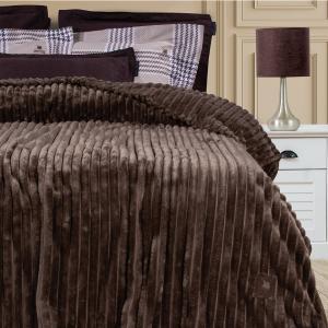 Κουβέρτα Υπέρδιπλη Fleece 220x240cm Polo Club 2442