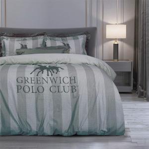 Πάπλωμα Υπέρδιπλο Σετ 220x240cm Polo Club Print 2099  Βαμβάκι-Πολυεστέρας