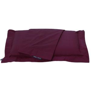 Μαξιλαροθήκες Ζεύγος 50x70cm Polo Club Solid Percale 2205 Μπορντώ Βαμβακι-Περκάλι