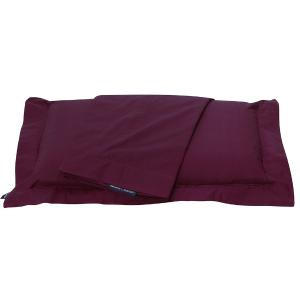 Μαξιλαροθήκες Ζεύγος 50x70+7cm Polo Club Premium Solid Percale 2205 Μπορντό