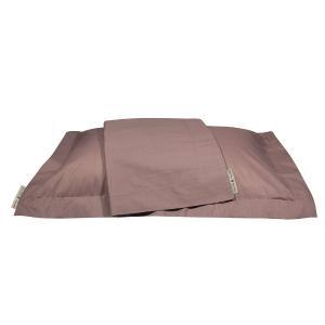 Μαξιλαροθήκες Ζεύγος 50x70+7cm Polo Club Premium Solid Percale 2208 Nude