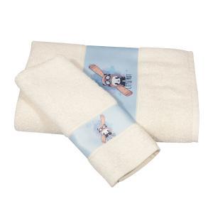 Πετσέτες Παιδικές Σετ 2τεμ Polo Club 2934 Βαμβακερές