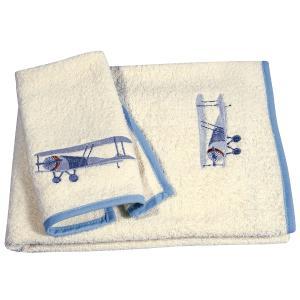 Πετσέτες Παιδικές Σετ 2τεμ Polo Club 8800 Βαμβακερές