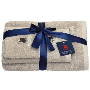 Πετσέτες Σετ 3τμχ Polo Club Essential 2505
