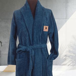 Μπουρνούζι Χωρίς Κουκούλα Polo Club Essential Βαμβακερό