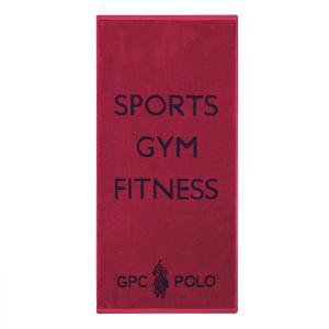 Πετσέτα Γυμναστηρίου 45x90cm Polo Club 2591 Βαμβακερή