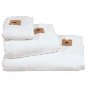 Πετσέτα Μπάνιου 70x140cm Polo Club 2550 Λευκό Βαμβακερή