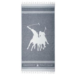 Πετσέτα Θαλάσσης 80x180cm Polo Club Essential 3523 Βαμβακερή