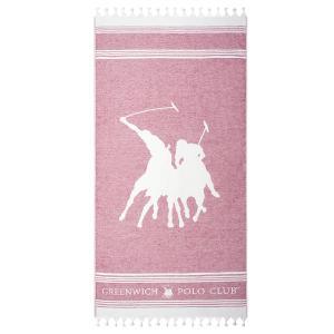 Πετσέτα Θαλάσσης 80x180cm Polo Club Essential 3525 Βαμβακερή
