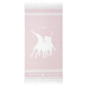 Πετσέτα Θαλάσσης 80x180cm Polo Club Essential 3526 Βαμβακερή