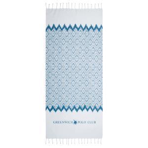 Πετσέτα Θαλάσσης- Παρεό 80x180cm Polo Club 3532