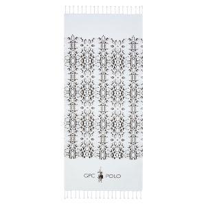 Πετσέτα Θαλάσσης 80x180cm Polo Club Essential 3538 Βαμβακερή