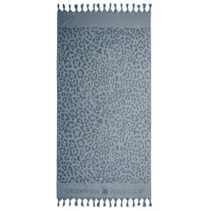 Πετσέτα Θαλάσσης- Παρεό 90x170cm Polo Club 2883