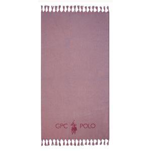 Πετσέτα Θαλάσσης 90x170cm Polo Club Essential 3576 Βαμβακερή
