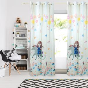 Κουρτίνα Παιδική με Κρίκους Das Home 2065 140x280cm