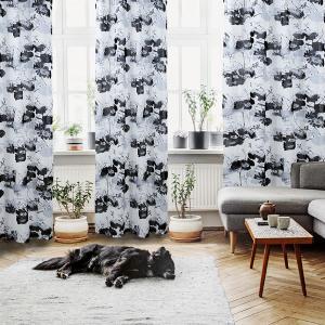 Κουρτίνα με Κρίκους Das Home 2075 140x280cm