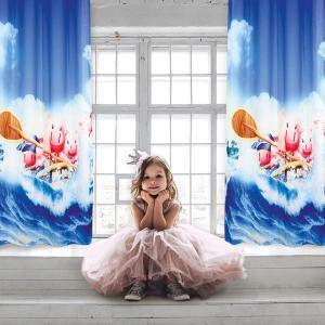 Κουρτίνα Παιδική με Κρίκους 140x280cm Das Kids Curtain 2122 Πολυεστερική
