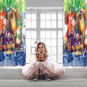 Κουρτίνα Παιδική με Κρίκους 140x280cm Das Kids Curtain 2123 Πολυεστερική