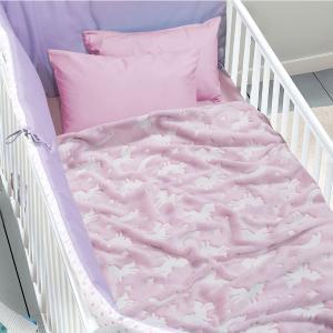 Κουβέρτα Fleece Κούνιας 110x150cm Das Kid 4734