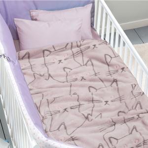 Κουβέρτα Fleece Κούνιας 110x150cm Das Kid 4735