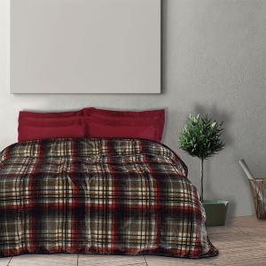 Κουβέρτα Υπέρδιπλη Velour 220x240cm Das Home 0451