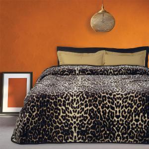 Κουβέρτα Υπέρδιπλη Velour 220x240cm Das Home 0452