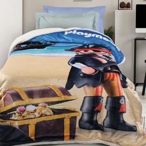 Κουβέρτα Μονή Παιδική Fleece 160x220cm Das Home Playmobil Pirate 5022