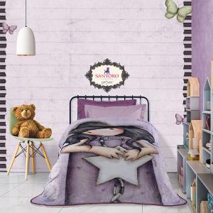 Κουβέρτα Μονή Παιδική Fleece 160x220cm Das Kids Santoro Prints 5029 Πολυεστερική