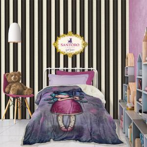 Κουβέρτα Μονή Παιδική Fleece 160x220cm Das Kids Santoro Prints 5030 Πολυεστερική