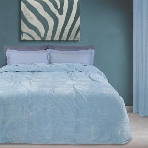 Κουβέρτα Υπέρδιπλη Fleece 220x240cm Das Home 0441