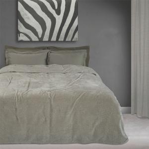 Κουβέρτα Υπέρδιπλη Fleece 220x240cm Das Home 0443