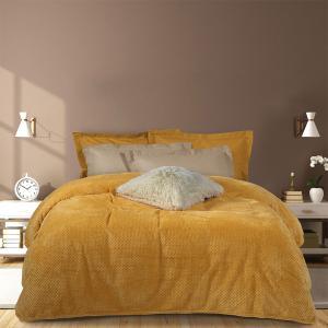Κουβέρτα Υπέρδιπλη Fleece 220x240cm Das Home Blanket 0466 Πολυέστερας
