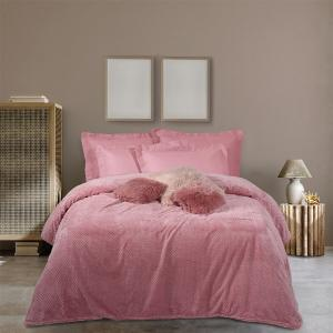 Κουβέρτα Υπέρδιπλη Fleece 220x240cm Das Home Blanket 0467 Πολυέστερας