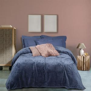Κουβέρτα Μονή Fleece 160x220cm Das Home Blanket 0468 Πολυέστερας