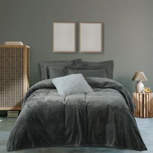 Κουβέρτα Υπέρδιπλη Fleece 220x240cm Das Home Blanket 0469 Πολυέστερας