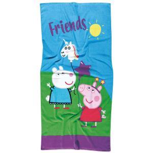 Πετσέτα Θαλάσσης Παιδική 70x140cm Das Home Peppa Pig 5847