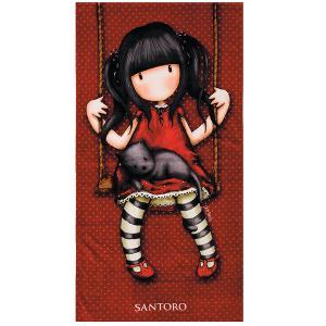 Πετσέτα Θαλάσσης Παιδική 75x150cm Das Kids Santoro Prints 5808 Βαμβακερή