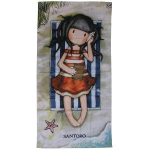 Πετσέτα Θαλάσσης Παιδική 75x150cm Das Kids Santoro Prints 5809 Βαμβακερή
