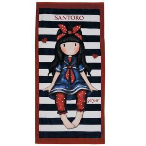 Πετσέτα Θαλάσσης Παιδική 75x150cm Das Kids Santoro Prints 5810 Βαμβακερή