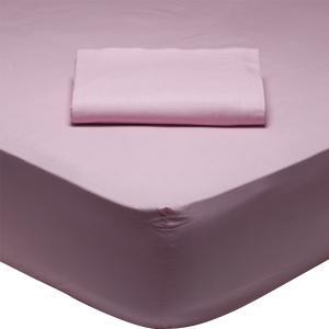 Σεντόνι Υπέρδιπλο 230x260cm Das Home Best 1012 Ροζ
