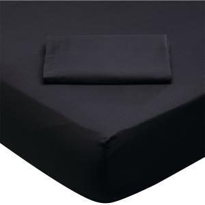 Σεντόνι Υπέρδιπλο 230x260cm Das Home Best 1015 Μαύρο
