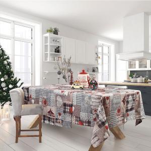 Χριστουγεννιάτικο Τραπεζομάντηλο 140x180cm Das Home 0571