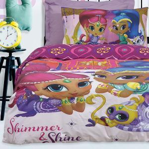 Σεντόνια Παιδικά Μονά Σετ 160x260cm Das Home Shimmer & Shine 5001