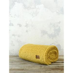 Κουβέρτα Καναπέ Fleece 130x170cm Nima Manta New  Mustard