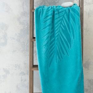 Πετσέτα Θαλάσσης 90x160cm Nima Fougere Jacquard Βαμβακερή