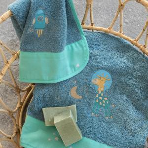 Πετσέτες Παιδικές Σετ 2 Τεμάχια Nima Starzone Βαμβακερές
